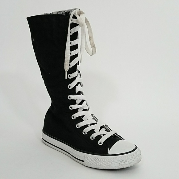 Converse Super High Side Zip Sneaker